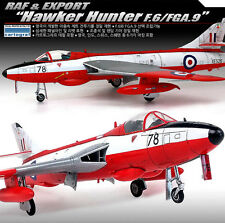 Academy 12312 Plastic Model Kit 1/48 RAF & EXPORT Hawker Hunter F.6/FGA.9 2016