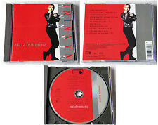 GIANNA NANNINI Malafemmina .. 1988 Fully Red Metronome CD