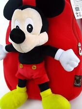 New Plush baby Mickey Mouse doll Backpack bag tote free shipping
