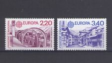 FRENCH ANDORRA, EUROPA CEPT 1987, MODERN ARCHITECTURE, MNH