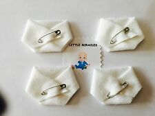 LM 40 ORIGINAL WHITE BABY SHOWER DIRTY DIAPER FAVOR GAME