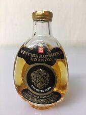 Mignon Miniature Vecchia Romagna Brandy Etichetta Nera Buton 30cc 40% Vol 15