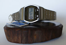 NOS RARE 1975 SEIKO 0664-5000 LC Quartz LCD DIGITAL WATCH JAMES BOND TAG VINTAGE