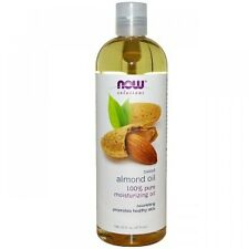 Almond NOW FOODS 100% Pure Sweet Almond Oil 16 oz Moisturizing Oil Healthy Skin