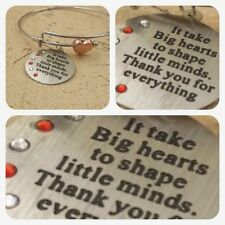 Unusual Teacher Gift thank you End of Term Leaving Present Christmas womens her