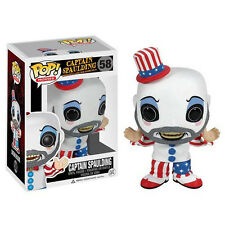 FUNKO POP 2013 MOVIES HOUSE 1000 CORPSES CAPTAIN SPAULDING #58 Sealed IN STOCK