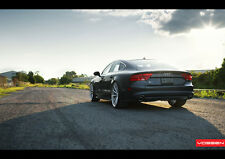 AUDI A7 VOSSEN WHEELS NEW A3 CANVAS GICLEE ART PRINT POSTER
