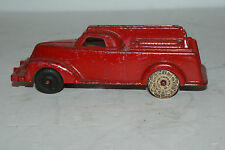 Antique Toy Parts, Ahrens Toy Fire Truck by Manoil 1940. One Antique White Tire.