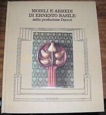 Mobili e Arredi di Ernesto Basile nella collezione Ducrot Novecento 1980