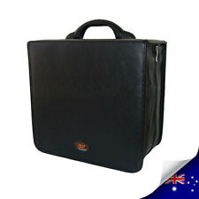 STYLE LEATHER 520 CDs & DVDs WALLET CASE HOLDS - NEW
