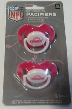 San Diego Chargers PINK Baby Infant Pacifiers NEW - 2 Pack SHOWER GIFT girls
