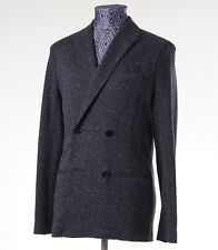 New Z ZEGNA Unstructured Gray Melange Jersey Blazer Slim M (38-40) Sport Coat