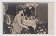 POSTCARD - Evie Greene in theatre dressing room, Edwardian actress, Tuck #5070