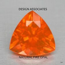 MEXICAN FIRE OPAL 5 MM TRILLION CUT ALL NATURAL