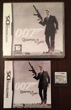 007 Quantum Of Solace Game For Ds Dsi Lite 3Ds Nintendo James Bond 99p UK P&P