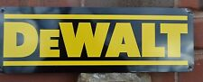 DEWALT Power Tool SIGN Cordless Drill Logo Contractor Workshop logo collectable