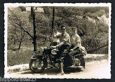 Photo photo ancien moto OLD MOTORCYCLE vieille moto motocicleta vieja/96e BMW