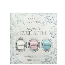 NIB Deborah Lippmann Happily Ever After Nail Polish Gift Set Matteen Finish