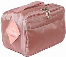 Quality Ladies Large Toiletries Toiletry Travel Wash Bag Womens New Toilet
