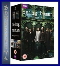 BEING HUMAN  - COMPLETE SERIES 1 2 3 4 & 5 **BRAND NEW DVD BOXSET * **