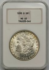 1898-O Morgan Dollar $1 MS 65 NGC Old Fat Holder