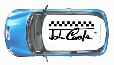 MINI/ MINI ONE/ MINI COOPER HUGE ROOF DECAL CAR VINYL GRAPHICS/ DECALS STICKERS