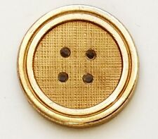9 CT Gold CLASSIC FOUR HOLE GILT Holland & Sherry  Buttons Best Gift for Him