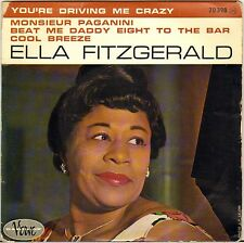 "ELLA FITZGERALD ""YOU'RE DRIVING ME CRAZY"" VOCAL JAZZ 60'S EP BARCLAY-VERVE 70398"