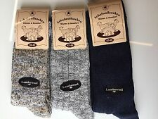 3 Pairs Mens Thick Chunky Wool Work Hiking Boot Socks Warm Size UK  6-11  GWSXC
