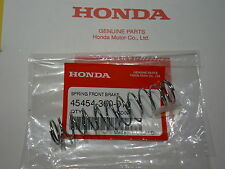 HONDA FRONT BRAKE CABLE RETURN SPRING CR60 R CR80 R XR100 R XL75 XL80 S OEM PART