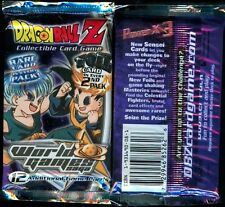 WORLD GAMES SAGA BOOSTER PACK UNLIMITED X1 DBZ FACTORY SEALED SCORE™