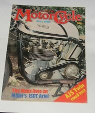 THE CLASSIC MOTOR CYCLE MAY 1983 - 1963 AJS 646CC HURRICANE/A GLINT OF SUNBEAMS