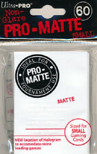600 Ultra Pro Deck Protector Card Sleeves Pro Matte White Small Yugioh Vanguard