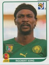 N°394 RIGOBERT SONG # CAMEROON STICKER PANINI WORLD CUP SOUTH AFRICA 2010