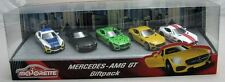 Majorette Model Car metal DieCast Mercedes Benz AMG GT Giftpack with 5 cars