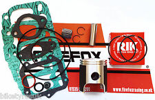Aprilia Af1 Rs125 Rs 125 Top End Rebuild Kit Inc Pistón & juntas Rotax 122/123