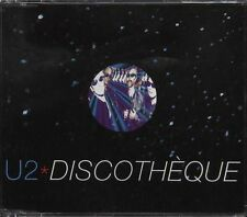 MAXI CD U2 (BONO) DISCOTHEQUE REMIXES 4T (TOUR NOIR)