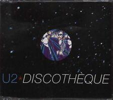 MAXI CD U2 (BONO) DISCOTHEQUE REMIXES 4T (TOUR NOIR)