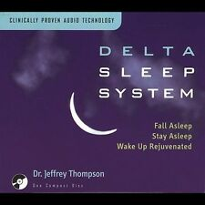Delta Sleep System by Jeffrey D. Thompson (CD, May-2001, The Relaxation Company)