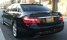 Upainted W212 E250 E350 Sedan  E63AMG Look Trunk Spoiler +OE Type Roof Lip 10-14
