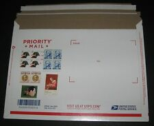 UNITED STATES Flat Rate Priority Mail Envelopes lot of 100 STAMPED w/PROPER RATE