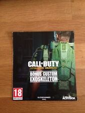 Call of Duty Advanced Warfare Xbox One Bonus Custom Esoscheletro DLC