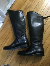 JOHN BROS field police motorcycle riding overknee mens boots sz 11? gay interest