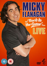 BNIB - Micky Flanagan - Back In The Game - Live (DVD, 2013)