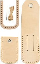 CRAFT KIT TO MAKE A LEATHER SHEATH FOR UP TO 4 INCH CLOSED FOLDING KNIFE SH1010