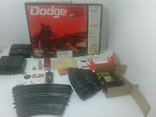 ELDON DODGE ROAD RACE SET WITH ORIGINAL RECEIPT, STICKERS & MORE