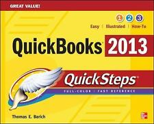 QuickBooks 2013 QuickSteps, Barich, Thomas, New Book