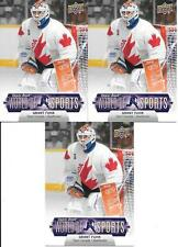 GRANT FUHR TEAM CANADA 2011 UPPER DECK WORLD OF SPORTS #147 NICE (3) CARD LOT