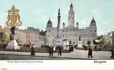 BR75317 municipal building and george square real photo   glasgow  scotland