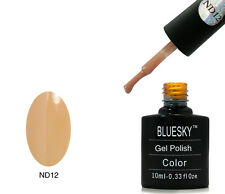 Bluesky ND12 Brown Nude - UV LED Gel Soak off Nail Polish 10ml
